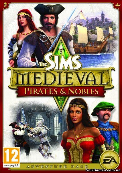Скачать кряк для The Sims Medieval Пираты и Знать